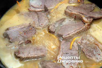 Как приготовить Утка в апельсиновом соусе. Шаг 10: тушеная утка