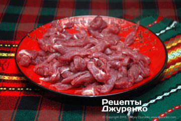 Крок 2: яловичина для страви