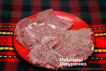 Шаг 1: отбитая говядина