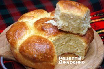 Готова страва Здобні булочки - солодка і м'яка домашня випічка до чаю.