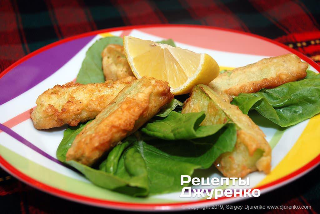 кабачки смажені в клярі фото рецепту