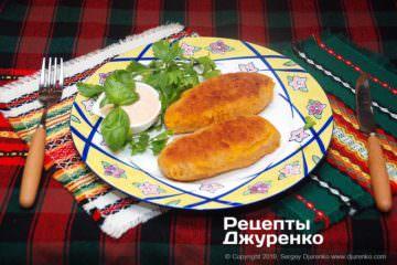 Фото рецепта морквяні котлети