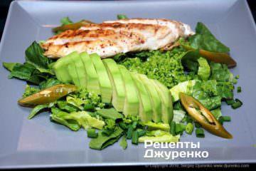 Шаг 5: салат с куриным филе