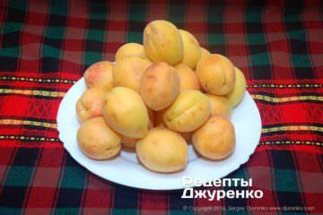 Крок 1: абрикоси для шарлотки