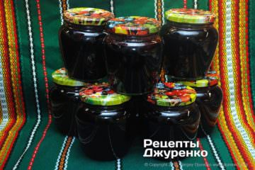 Step 7: jars of jam