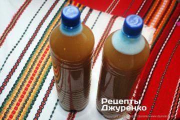 розлити по пляшках і поставити на холод
