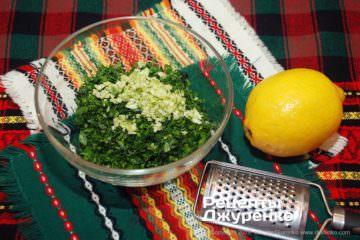 Шаг 2: цедра лимона
