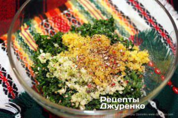 Шаг 3: специи для соуса