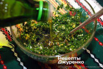 Крок 6: оливкова олія за бажанням