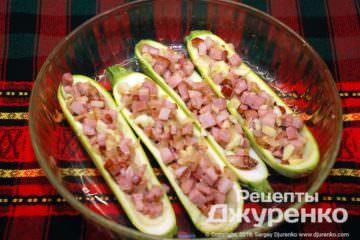 Шаг 5: начиненные кабачки