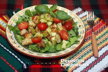 салат з кабачків