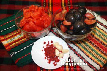 Крок 1: підготовка інгредієнтів до соусу