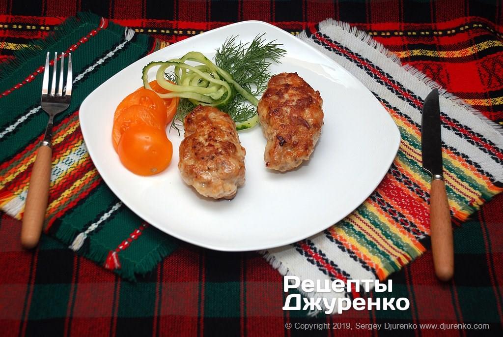 Фото готового рецепта рубленые куриные котлеты в домашних условиях