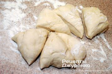Шаг 4: готовое сдобное тесто