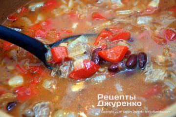 загустить суп мукой