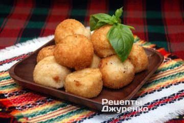 Готовое блюдо сырные шарики