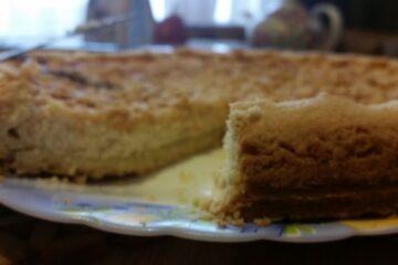 Фото Королевская ватрушка — пирог с творогом от автора Мария