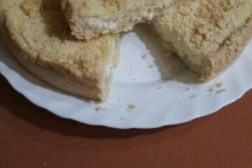 Фото Королевская ватрушка — пирог с творогом от автора Алёна