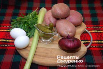 Шаг 1: овощи для салата