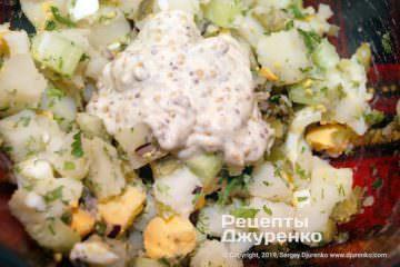 Крок 7: замішати салат в мисці