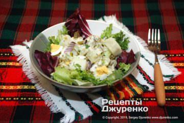 Фото рецепта картофельный салат