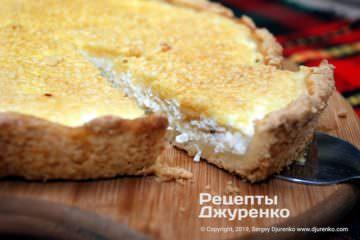 Фото рецепта королевская ватрушка — пирог с творогом