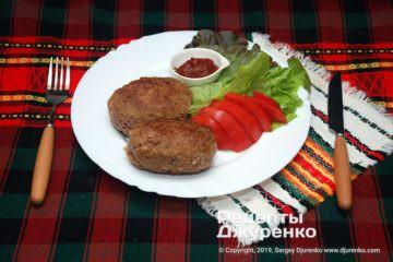 Фото рецепта котлеты из индейки с сыром