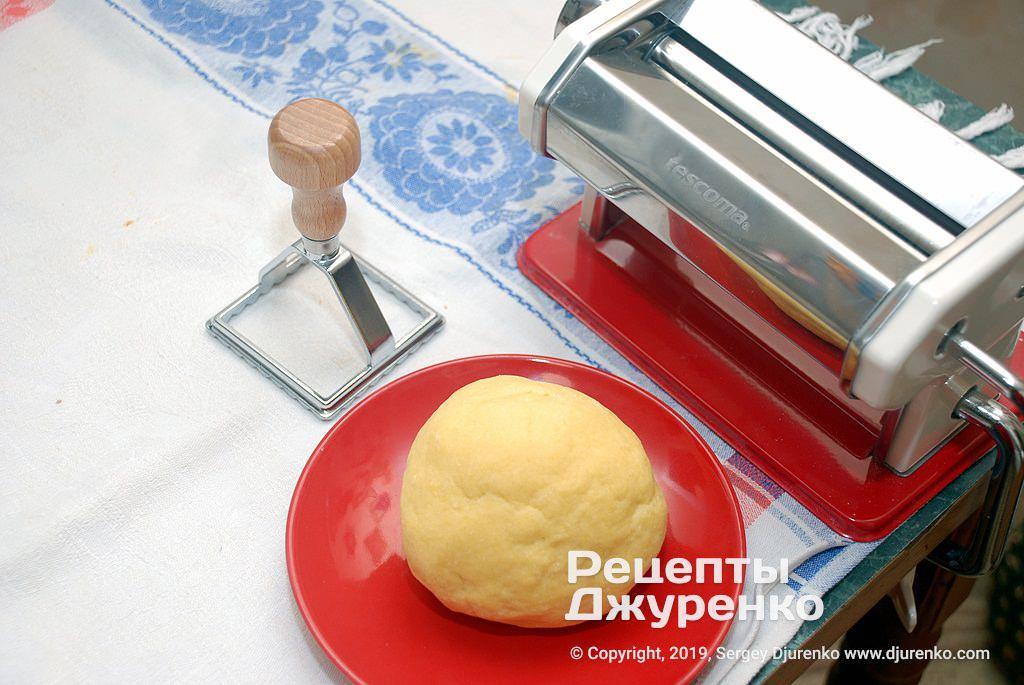 Тесто для пасты.