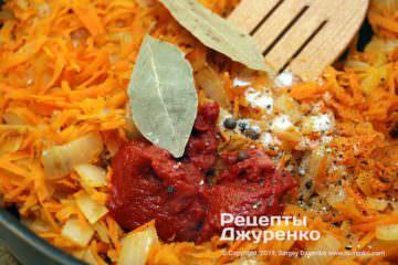 Шаг 5: тушеные овощи