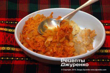 Крок 4: риба з овочами