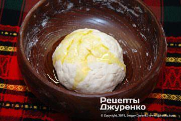 Крок 3: тісто з олією