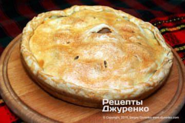 Крок 11: рум'яний пиріг