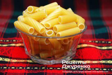 Шаг 3: макаронные изделия