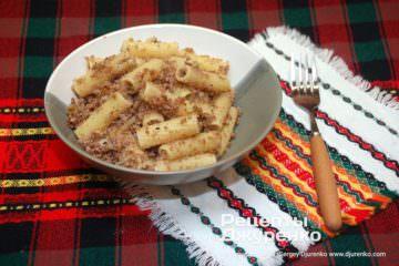 Фото рецепта макарони по-флотськи