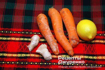 Крок 1: морквина для супу