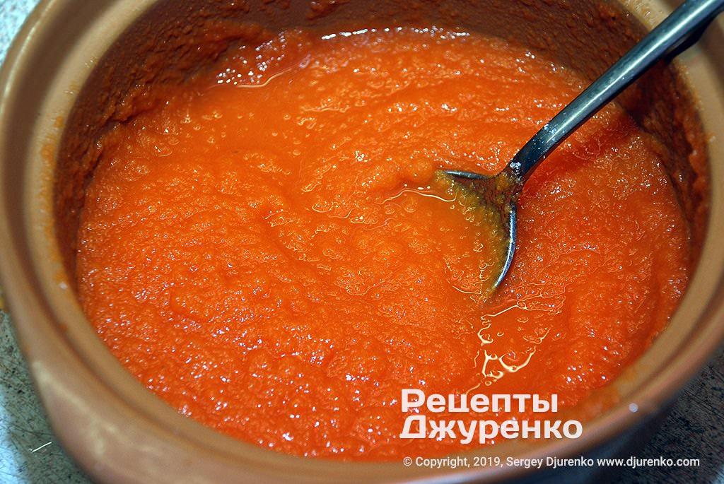 Густой суп-пюре.