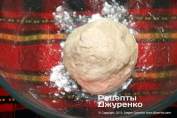 Крок 1: тісто для піци на сковороді
