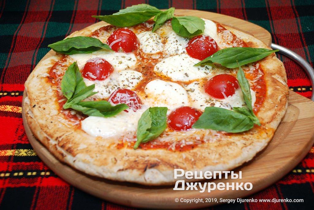 піца на сковороді фото рецепту