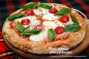 Фото рецепта пицца на сковороде
