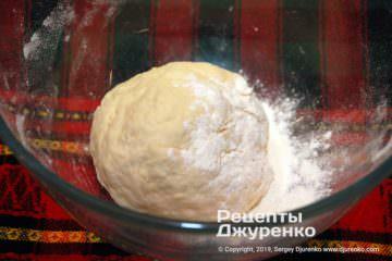 Крок 1: скачати тісто в кулю