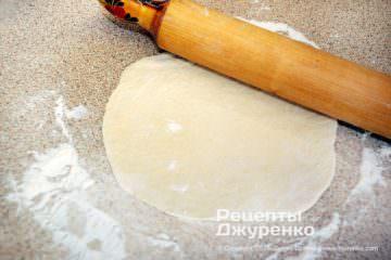 Крок 2: хлібний коржик з тіста