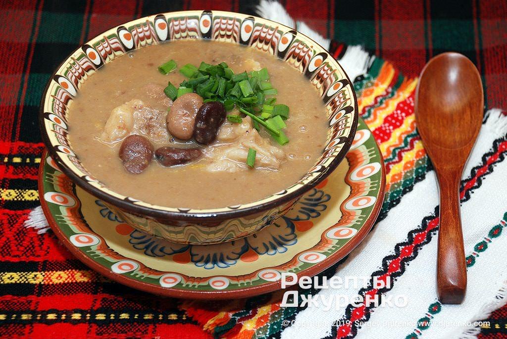 суп з бобів