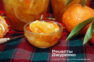 варення з мандаринів