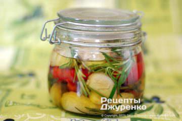Фото рецепта заправки к салатам