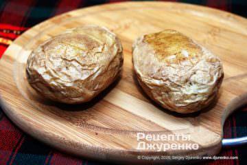 Фото рецепта картошка в мундире. 4 способа приготовить
