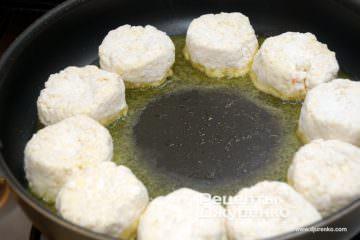 Шаг 3: жарить на оливковом масле