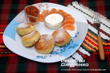 Фото рецепта сирники з манкою