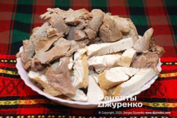 Шаг 3: готовое мясо для заливания