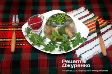Фото рецепта холодець з індички
