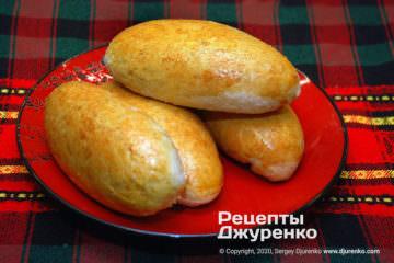Фото рецепта пиріжки з капустою